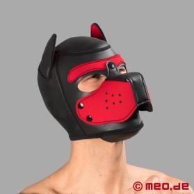bad-puppy-hundemaske-aus-neopren-schwarz-rot-ref-1829-00