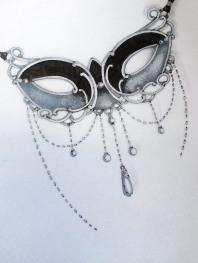 croquis jewel mask